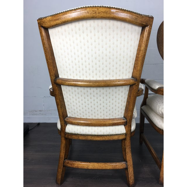 Minton-Spidell English Barber Chairs - a Pair - Image 6 of 10