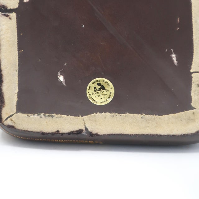 Ceramic 1970s Haeger Earth Wrap Lidded Ceramic Container For Sale - Image 7 of 8