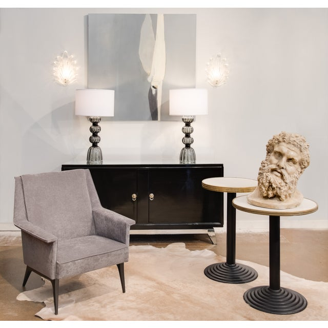 French Art Deco Bistro Tables - Pair - Image 2 of 10