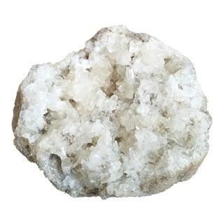 Quartz Crystal Geode Cluster
