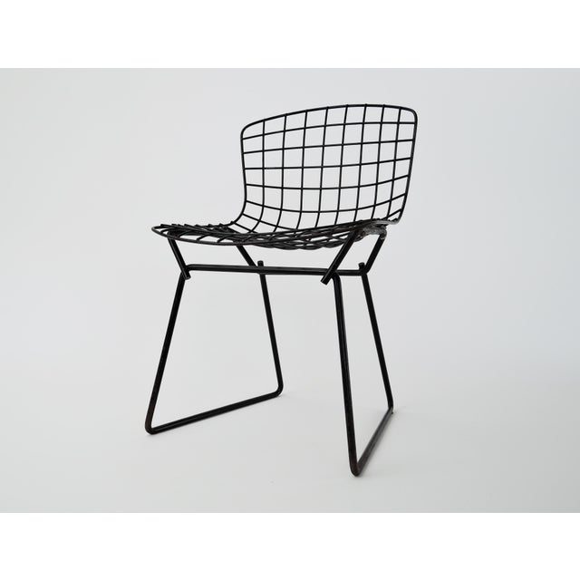 1960s Mid-Century Modern Harry Bertoia for Knoll Child Chair For Sale - Image 9 of 9