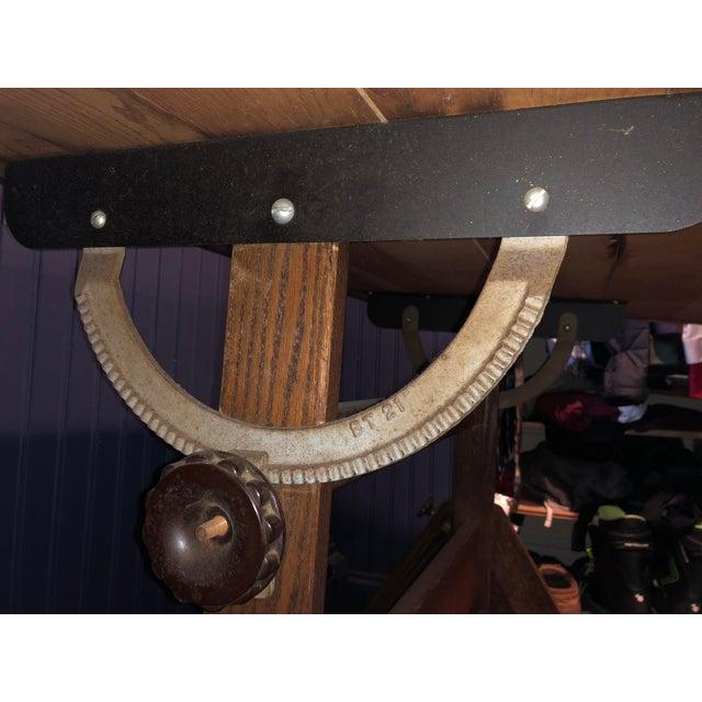 Vintage Anco Bilt Adjustable Drafting Table For Sale - Image 4 of 6