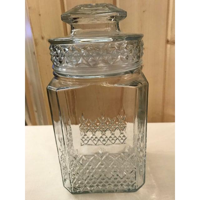 Vintage Square Canister Jar - Image 4 of 11
