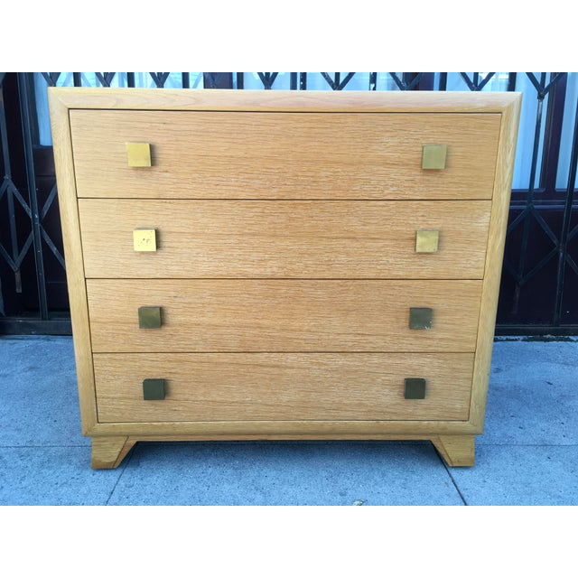 1940s Art Deco Petite Chest of Drawers For Sale - Image 4 of 13