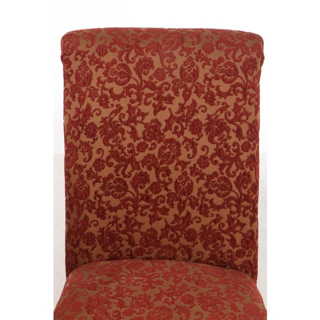 Designmaster Furniture of North Carolina Upholstered Dining Chairs - a Pair For Sale In Cincinnati - Image 6 of 11