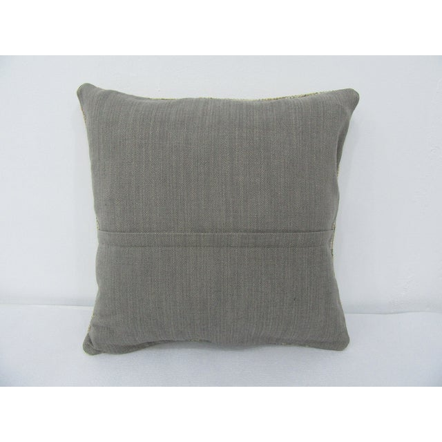 Turkish Vintage Turkish Decorative Pillow Cover For Sale - Image 3 of 4