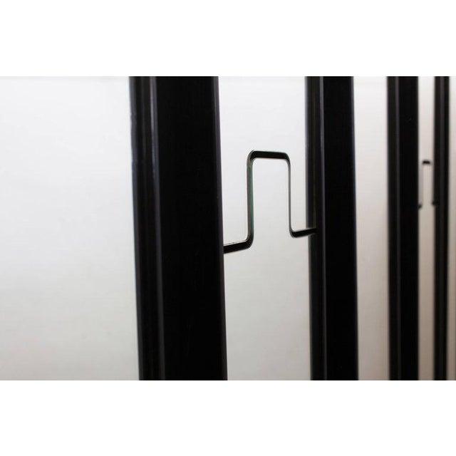 Mid-Century Modern Luciano Bertoncini 'Gronda' Mirrored Coat Racks For Sale - Image 3 of 7