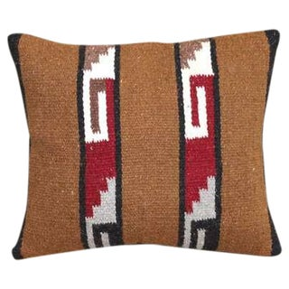 Navajo Indian Horse Blanket Pillow For Sale