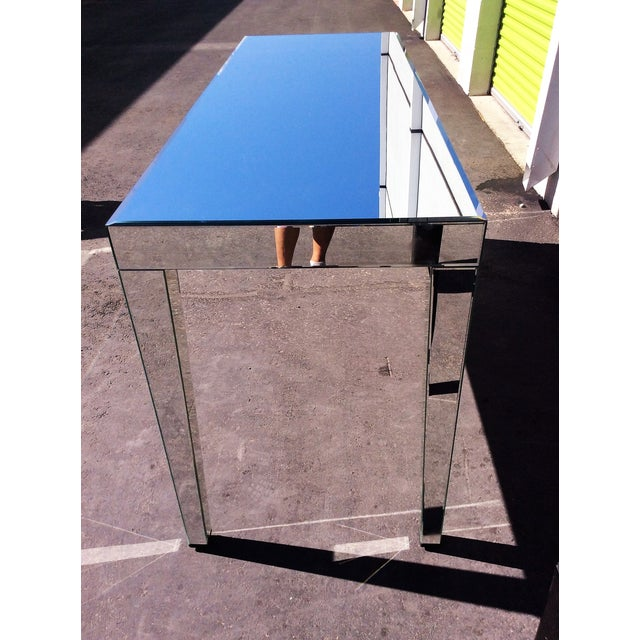 Large Beveled Mirror Hall Table - Image 7 of 7