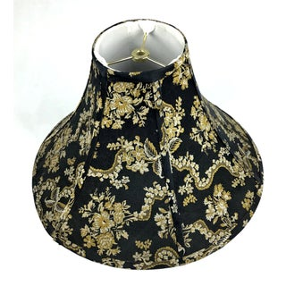 Mid Century Chinoiserie Silk Lamp Shade Preview