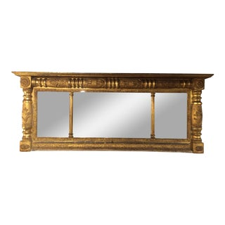 American Federal Parcel-gilt Over Mantel Mirror For Sale