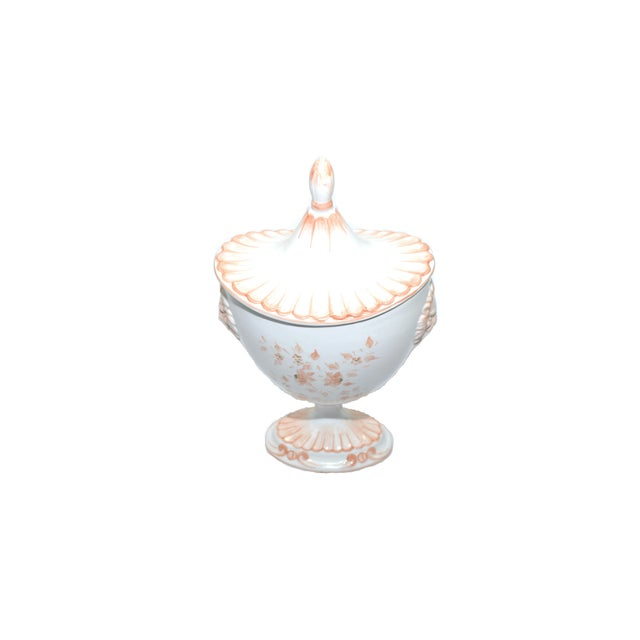 French Vintage Nora Fenton Italian Compote Dish For Sale - Image 3 of 8