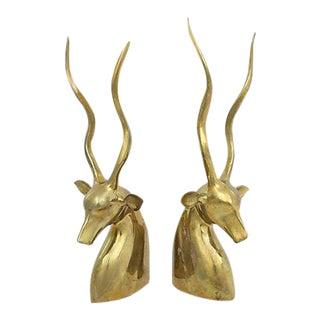 Large Brass Gazelles, Pr