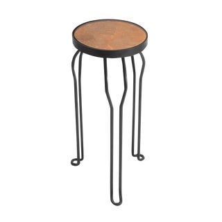 """Dingo"" Brass Gotham Collection Side Table For Sale"