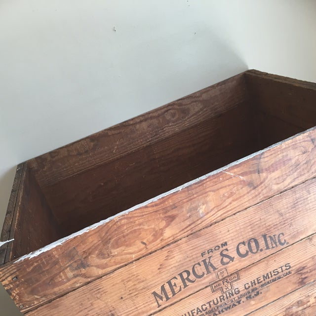 Antique Wooden Merck & Co. Crate - Image 5 of 8