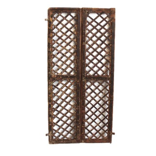 Original Iron Garden Gate For Sale