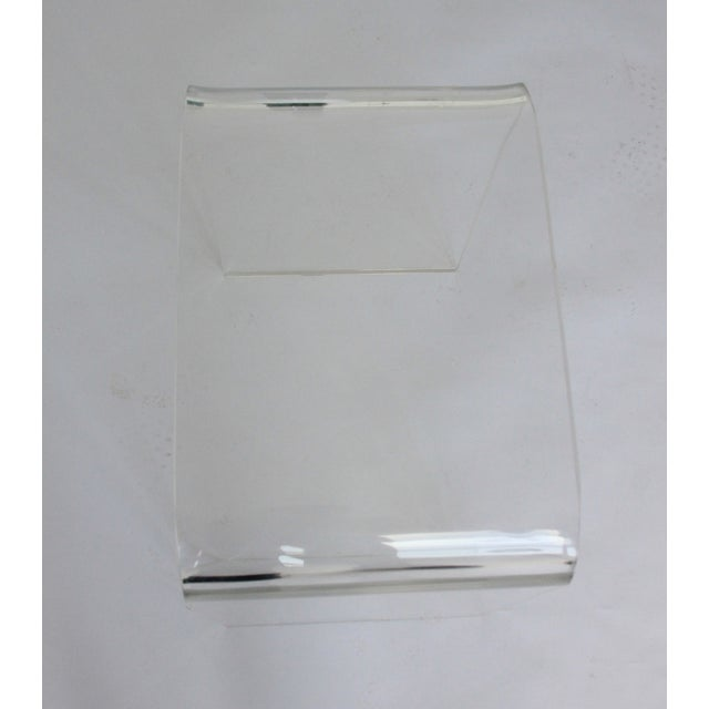 Vintage Lucite Side Table - Image 5 of 5