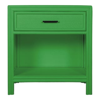 Bermuda One-Drawer Nightstand - Bright Green For Sale