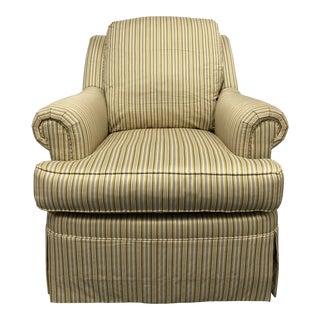 Henredon Rose Arm Chair For Sale