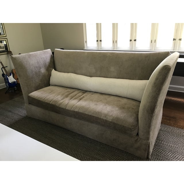 """Sagging Ridge Sofa from Lee Industries, McAlpine Collection Measures 92""""W x 37""""D x 43""""H; inside measures 72""""W x 23""""D x..."""