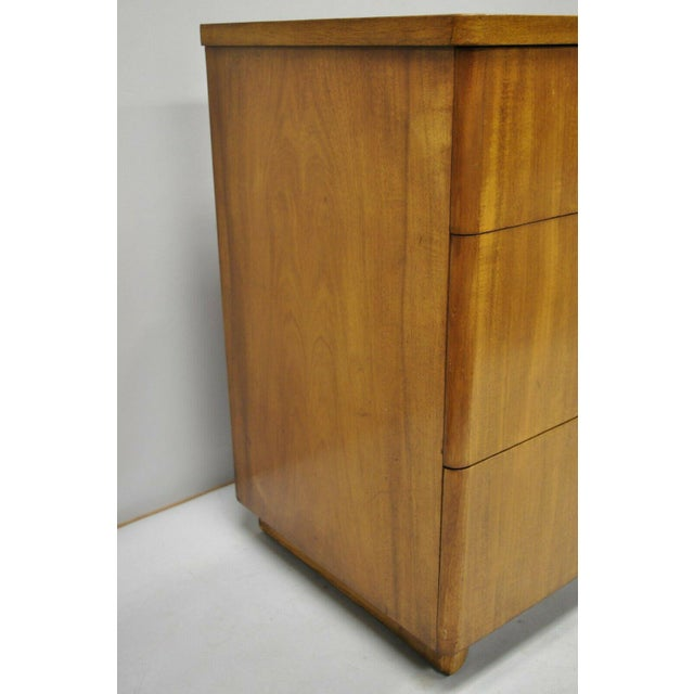 Mid 20th Century John Stuart Mid Century Modern Art Deco Birch Dresser For Sale - Image 5 of 13