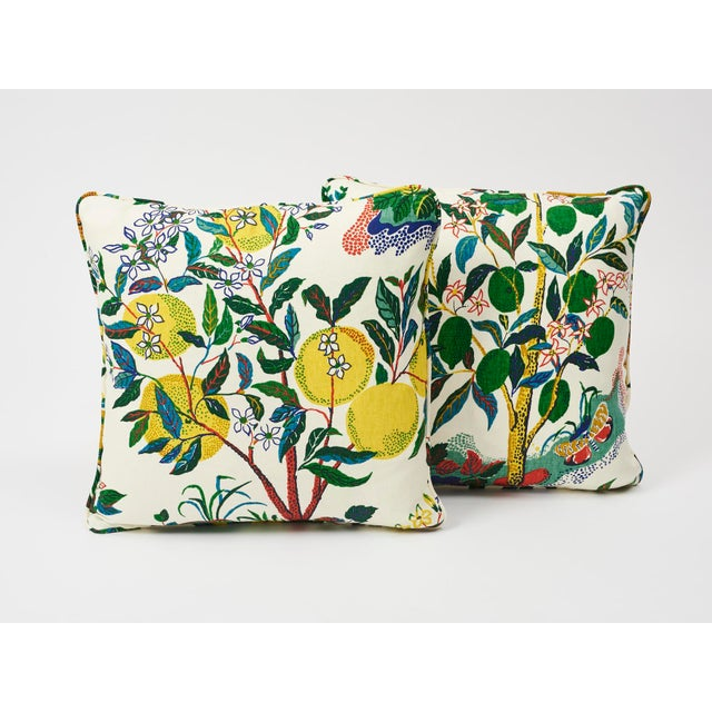 This archival Josef Frank print, created in 1947, bears the signature whimsy, color and personality for which the designer...