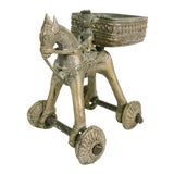 Image of Antique Indian Brass Temple Toy For Sale