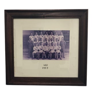 1944 Sports Memorabilia Kes Rugby Team Photograph For Sale