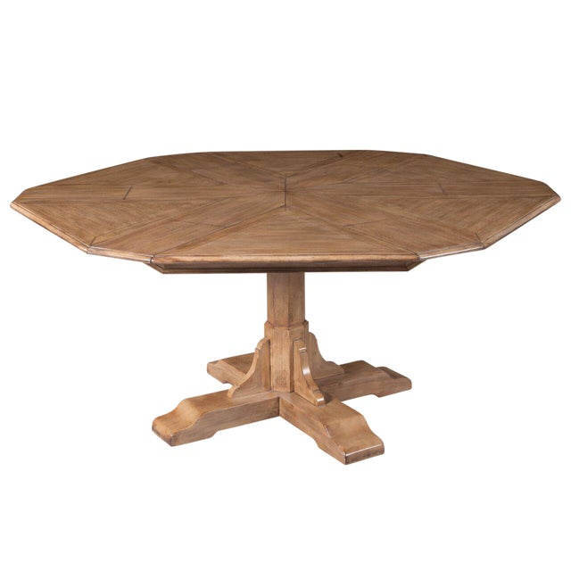 Sarreid LTD Hexagonal Jupe Dining Table - Image 1 of 4