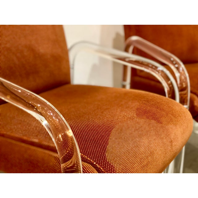 Lucite Armchairs by Lion in Frost. America, C. 1970s - a Pair For Sale - Image 10 of 13