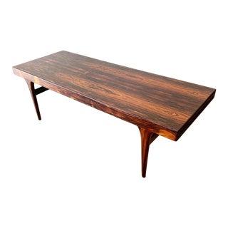 Danish Modern Rosewood Coffee Table by Johannes Andersen For Sale