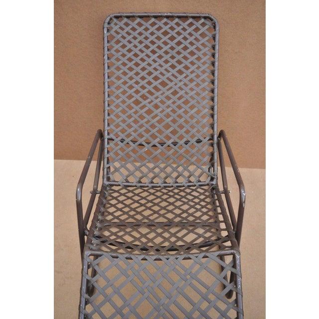 Brown Jordan Late 20th Century Vintage Brown Jordan Kantan Tamiami Tilt Lounge Chair For Sale - Image 4 of 10