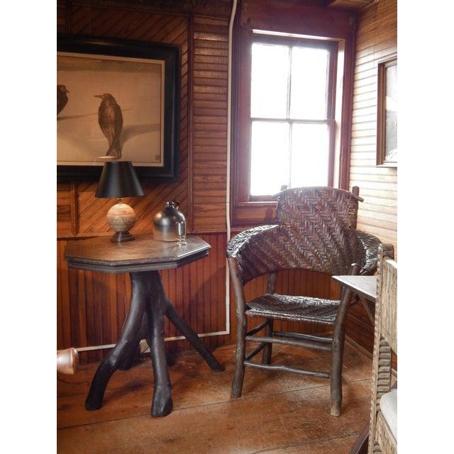 Folk Art Twig Table - Image 10 of 10