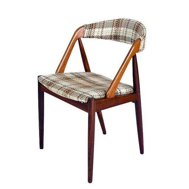 Set Of 6 Rosewood Kai Kristiansen Dining Chairs - Image 3 of 10