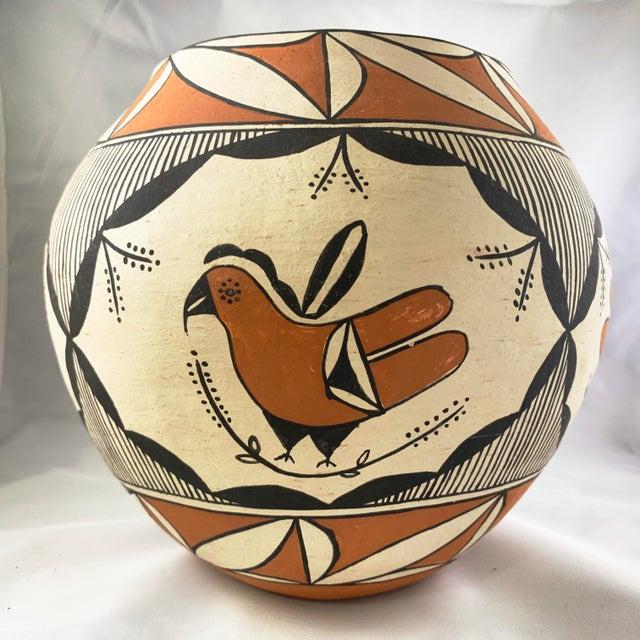 Southwestern Polychrome Parrot Jar For Sale - Image 4 of 13
