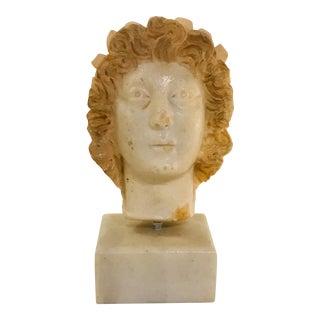 Vintage Greek Marble Bust For Sale