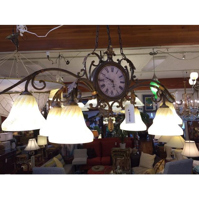 Fine Art Lamps Antiqued Iron Chandelier - Image 10 of 10