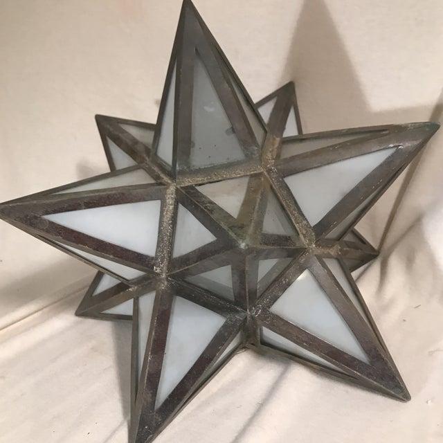 Geometric Metal Light Shade - Image 2 of 5