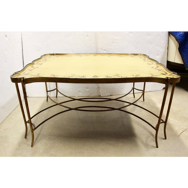 Painted Tray Top Coffee Table For Sale - Image 9 of 9