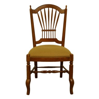 Ethan Allen Country French Wheat Back Chair For Sale