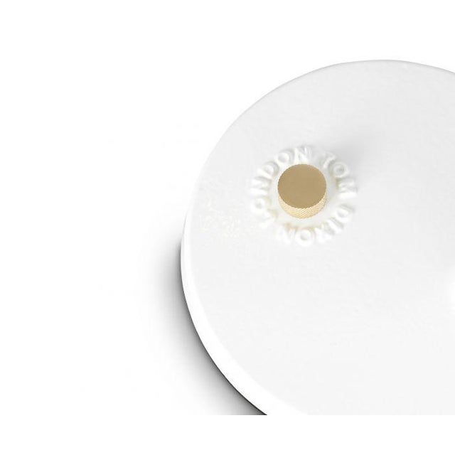 Tom Dixon Tom Dixon Beat Table Light in White For Sale - Image 4 of 9