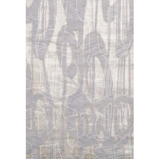 Pasargad N Y Bamboo Silk Hand-Knotted Rug - 6′7″ × 9′7″ For Sale