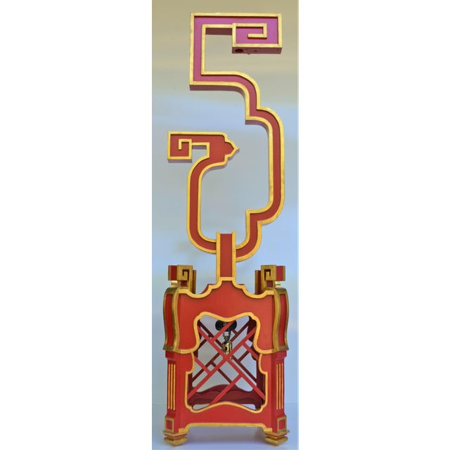 Custom Wooden Chinoiserie Pagoda Lantern, Designed by George Weinle For Sale - Image 13 of 13
