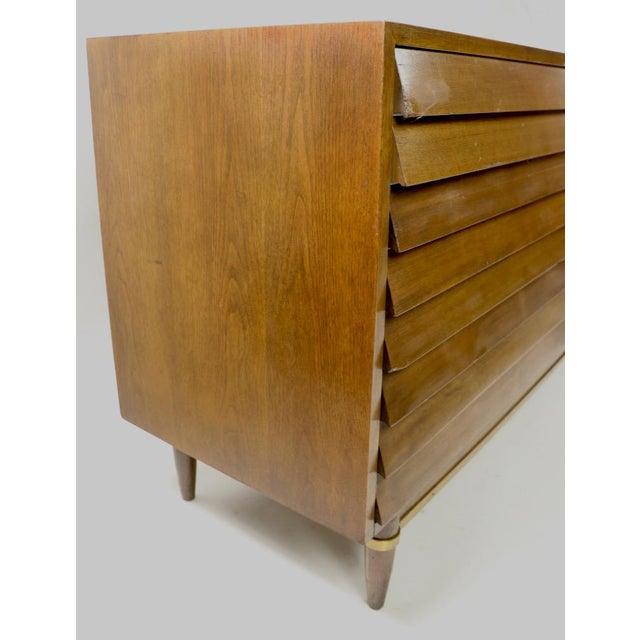 Brown Vintage Merton Gershun for American of Martinsville Diana Dresser For Sale - Image 8 of 12