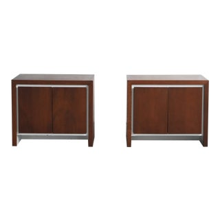 1950s Mid-Century Modern Teak Side Tables - a Pair For Sale