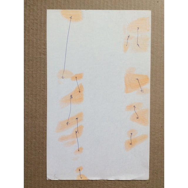 Mid-Century Modern Abstract Painting by James Bone For Sale - Image 3 of 4