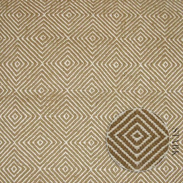 Stark Studio Rugs Contemporary Sphynx Flatweave Wool Rug - 6′1″ × 9′ For Sale