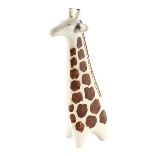 Taisto Kaasinen for Arabia Finland Mid-Century Giraffe Figurine For Sale