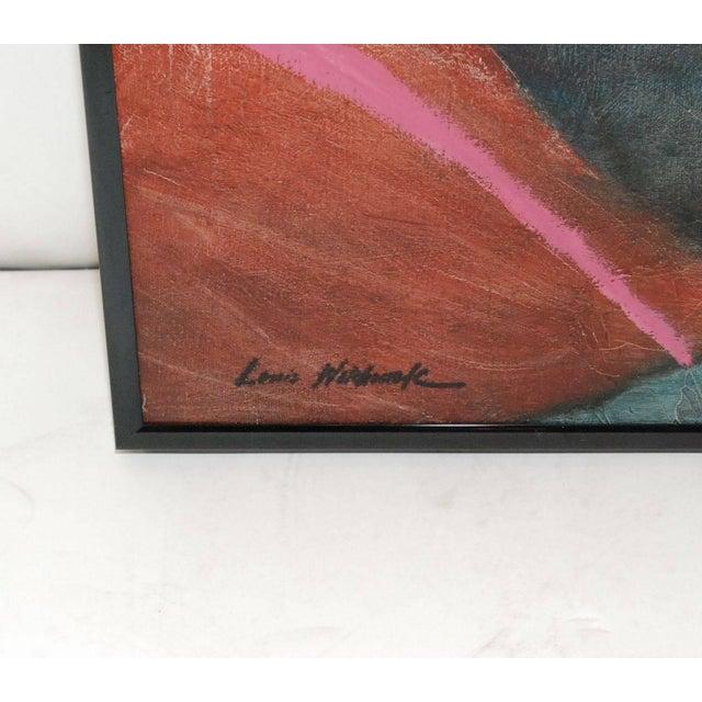 "Louis Wolchonok Louis Wolchonok Painting ""Reclining Woman"" For Sale - Image 4 of 6"