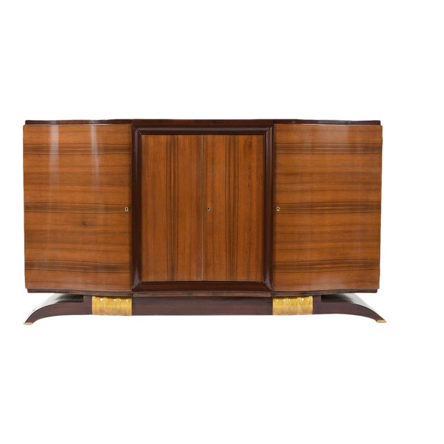 Traditional French Art Deco Buffet For Sale